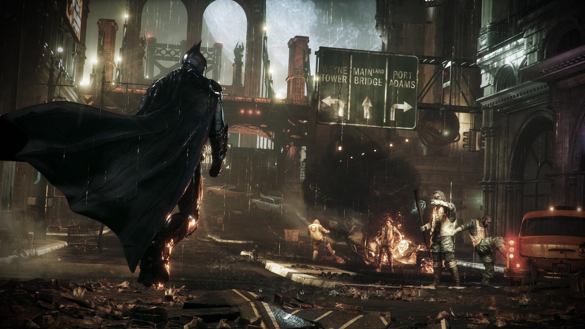 蝙蝠侠:阿卡姆骑士/阿甘骑士 全DLC版-爱游·幻想