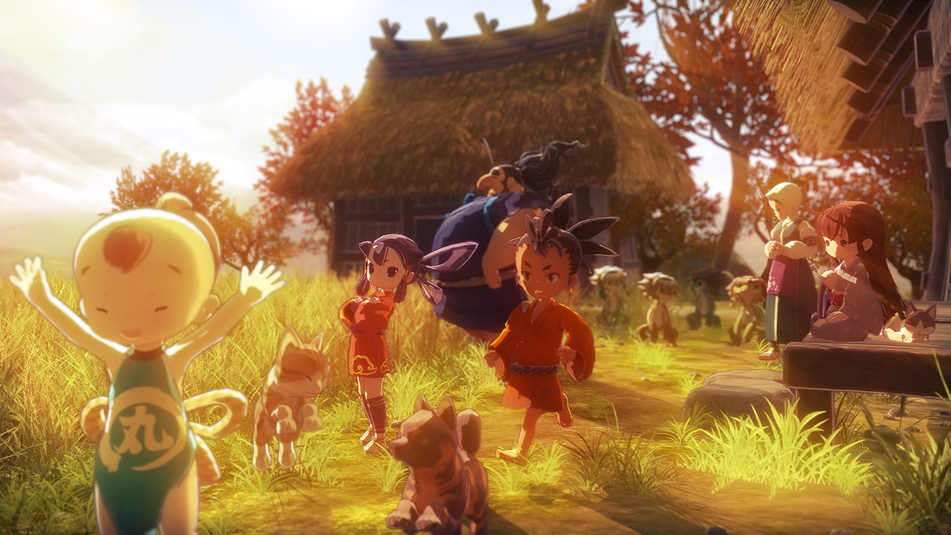 天穗之咲稻姬/Sakuna: Of Rice and Ruin-爱游·幻想